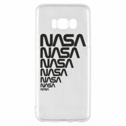 Чехол для Samsung S8 NASA