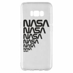 Чехол для Samsung S8+ NASA