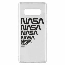 Чехол для Samsung Note 8 NASA