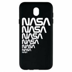 Чехол для Samsung J7 2017 NASA