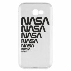 Чехол для Samsung A7 2017 NASA