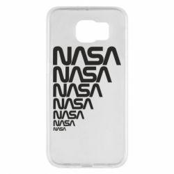 Чехол для Samsung S6 NASA