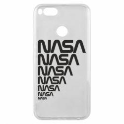 Чехол для Xiaomi Mi A1 NASA