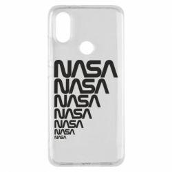 Чехол для Xiaomi Mi A2 NASA