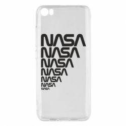 Чехол для Xiaomi Mi5/Mi5 Pro NASA