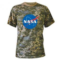 Камуфляжная футболка NASA