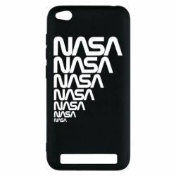 Чехол для Xiaomi Redmi 5a NASA