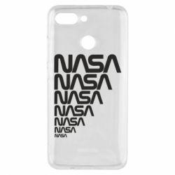Чехол для Xiaomi Redmi 6 NASA