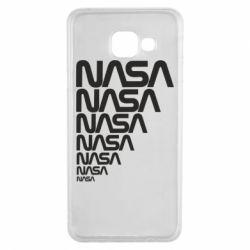 Чехол для Samsung A3 2016 NASA