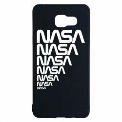 Чехол для Samsung A5 2016 NASA