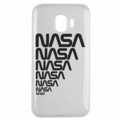 Чехол для Samsung J2 2018 NASA