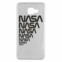 Чехол для Samsung A7 2016 NASA