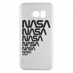Чехол для Samsung S6 EDGE NASA