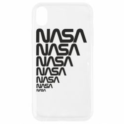 Чехол для iPhone XR NASA