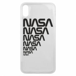 Чехол для iPhone Xs Max NASA