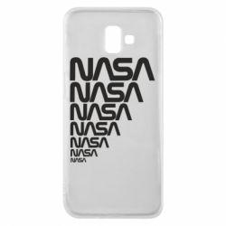 Чехол для Samsung J6 Plus 2018 NASA