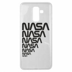 Чехол для Samsung J8 2018 NASA