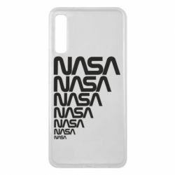 Чехол для Samsung A7 2018 NASA