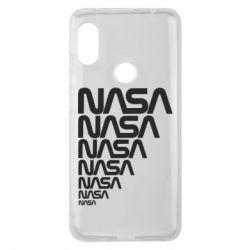 Чехол для Xiaomi Redmi Note 6 Pro NASA