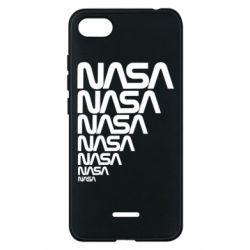 Чехол для Xiaomi Redmi 6A NASA