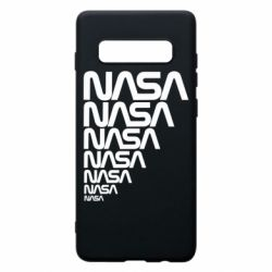 Чехол для Samsung S10+ NASA