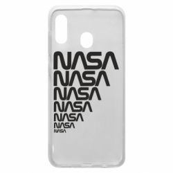 Чехол для Samsung A20 NASA
