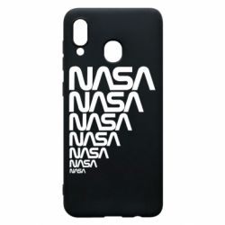 Чехол для Samsung A30 NASA
