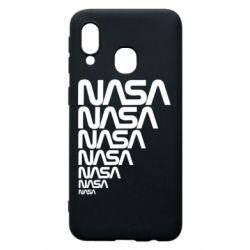 Чехол для Samsung A40 NASA