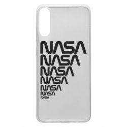 Чехол для Samsung A70 NASA