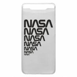 Чехол для Samsung A80 NASA