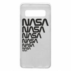 Чехол для Samsung S10 NASA