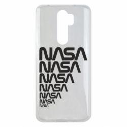 Чехол для Xiaomi Redmi Note 8 Pro NASA