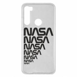 Чехол для Xiaomi Redmi Note 8 NASA