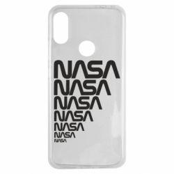 Чехол для Xiaomi Redmi Note 7 NASA