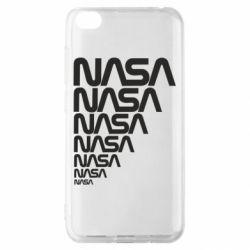 Чехол для Xiaomi Redmi Go NASA