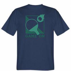 Мужская футболка Настольный Теннис игра