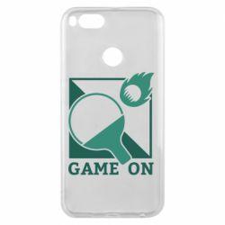 Чехол для Xiaomi Mi A1 Настольный Теннис игра