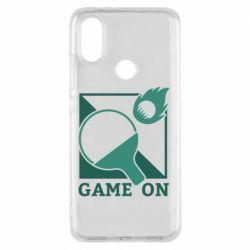 Чехол для Xiaomi Mi A2 Настольный Теннис игра