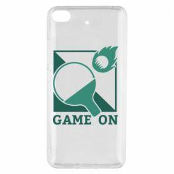 Чехол для Xiaomi Mi 5s Настольный Теннис игра