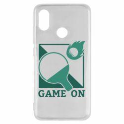 Чехол для Xiaomi Mi8 Настольный Теннис игра