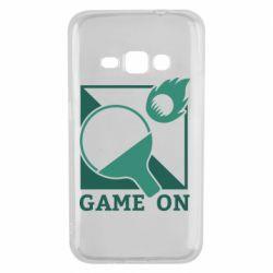 Чехол для Samsung J1 2016 Настольный Теннис игра
