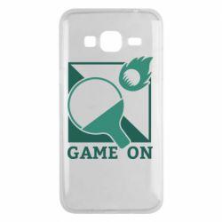 Чехол для Samsung J3 2016 Настольный Теннис игра