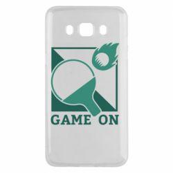 Чехол для Samsung J5 2016 Настольный Теннис игра