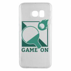 Чехол для Samsung S6 EDGE Настольный Теннис игра