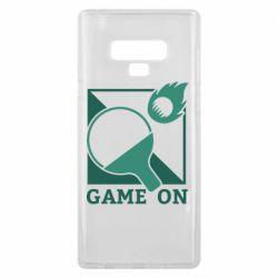 Чехол для Samsung Note 9 Настольный Теннис игра
