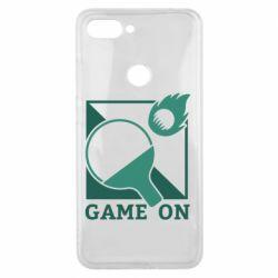 Чехол для Xiaomi Mi8 Lite Настольный Теннис игра