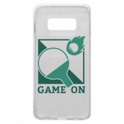Чехол для Samsung S10e Настольный Теннис игра