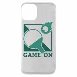 Чехол для iPhone 11 Настольный Теннис игра