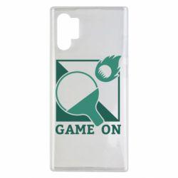 Чехол для Samsung Note 10 Plus Настольный Теннис игра