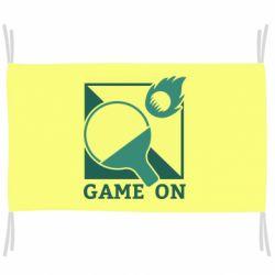 Флаг Настольный Теннис игра